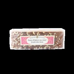 Pain d'épices fruits de bois tranché LES RUCHERS DE BOURGOGNE, 300g