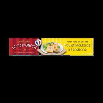 Bolard Petit Pâté En Croûte Au Poulet Et À La Moutarde Michel Bolard, 450g