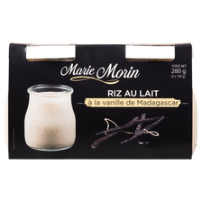 Riz au lait à l'ancienne, MARIE MORIN, 2x140g
