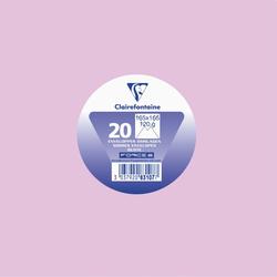 Enveloppe gommée carrée CLAIREFONTAINE, 165x165mm, lilas, 20 unités