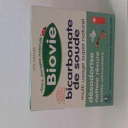 Bicarbonate de soude, multi-usage super naturel, BIOVIE