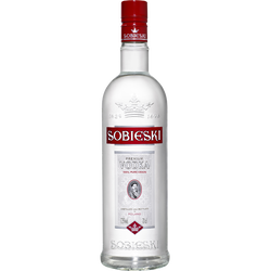 Vodka SOBIESKI, 37,5°,70cl nouvel habillage