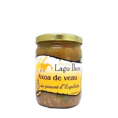LAGUILHON AXOA DE VEAU AU PIMENT D'ESPELETTE 350g