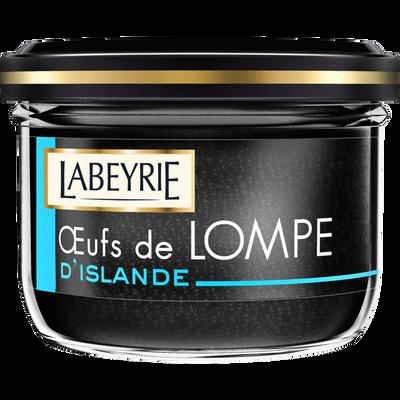 Oeufs de lompe noirs LABEYRIE, 80g