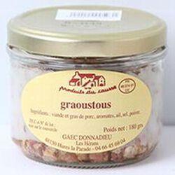 Graoustous, Produits du causse, 180g