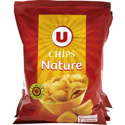 Chips nature multipack U, 6x30g easypack
