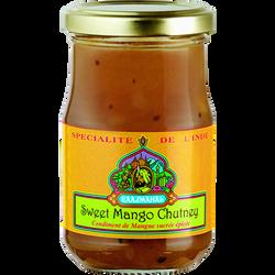 Condiments de mangue sucrées RAAJMAHAL, 200g