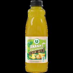 Nectar ananas kalamansi U, bouteille en plastique de 1L, édition limitée