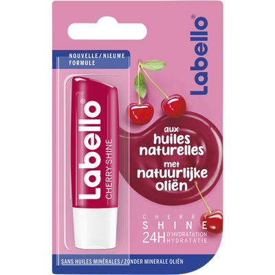 Stick pour les lèvres cherry shine aux huiles naturelles LABELLO, 4,8g