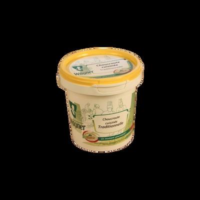 Choucroute cuisinée traditionnelle WAGNER, 1kg