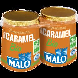 Emprésuré sucré au caramel bio MALO, 2x125g