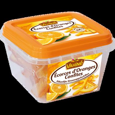 Ecorces d'oranges confites VAHINE, 100g