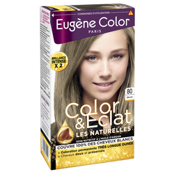 "Coloration permanente ""Les naturelles"" EUGENE COLOR, blond n°80"