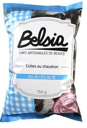 Chips artisanales de Beauce sel de l'Ile de Ré BELSIA 150g
