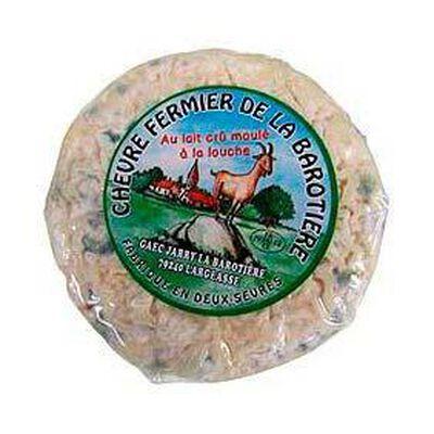 Palet de chèvre fermier au lait cru LA BAROTIERE, 23%MG, 150g