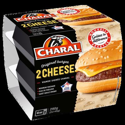 Cheeseburger CHARAL, 2x145g