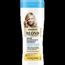 Gelée éclaircissante blond vacances sanss rinçage KERANOVE, 190ml