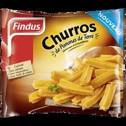 Churros de pomme de terre nature FINDUS, 600g