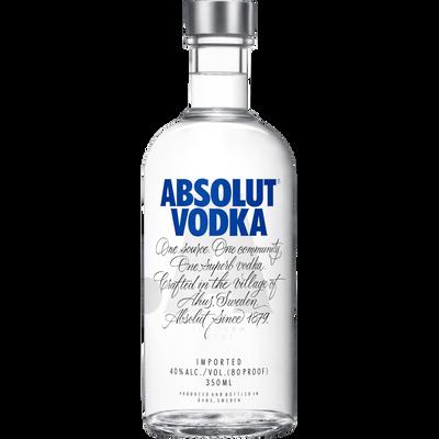 Vodka ABSOLUT, 40°, bouteille de 35cl