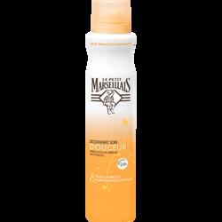 Déodorant soin douceur sauge & huile abricot LE PETIT MARSEILLAIS, spray de 200ml