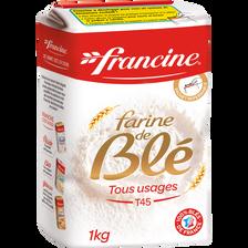 Farine de blé T45 FRANCINE, 1kg