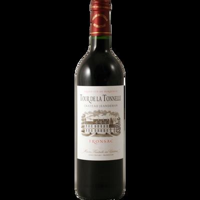 Vin rouge AOP Fronsac CHATEAU JEANDEMAN TOUR DE LA TONNELLE, bouteillede 75cl