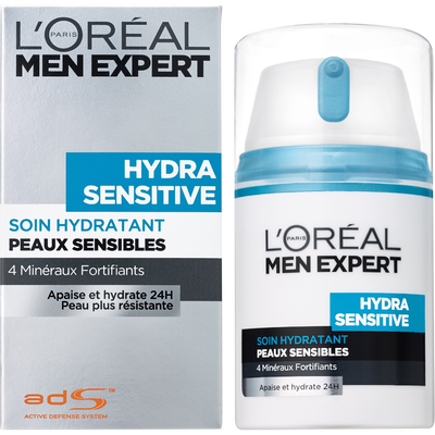 Soin hydratant protecteur Hydra Sensitve MEN EXPERT, flacon de 50ml