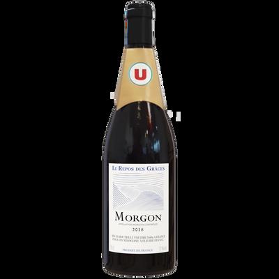 Vin rouge Morgon AOP Repos des Graces U, bouteille de 75cl
