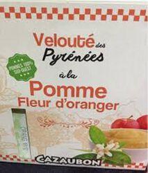 COMP POMME FLEUR ORANGÉE 4X125G