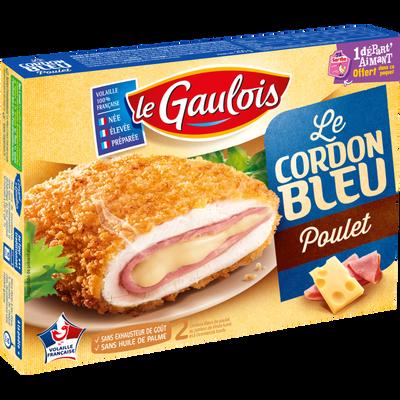 Cordon bleu de poulet, LE GAULOIS, 2 pièces, 200g