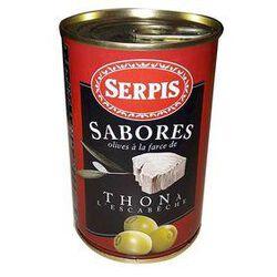 Olives Farcies au thon à l'escabèche, conserve de 130g - SERPIS