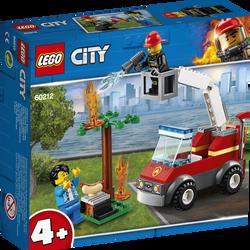 LEGO® City - L'extinction du barbecue - 60212 -  Dès 4 ans