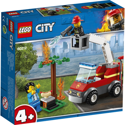 Extinction du barbecue LEGO City