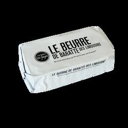 Beurre doux baratté LAITERIE LES FAYES, 200g