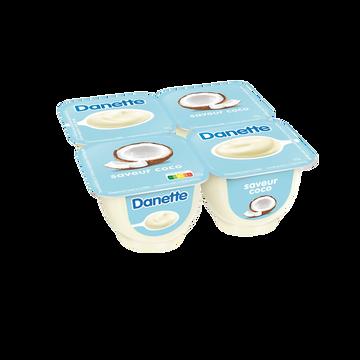 Danone Crème Dessert Coco Danette, 4x125g