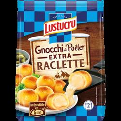 Gnocchi à poêler fourré à la raclette LUSTUCRU, 280g