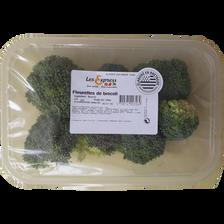 Fleurettes de brocoli, barquette 250g