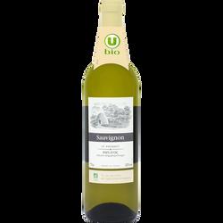 Vin blanc IGP d'Oc Sauvignon Le Bosquet U BIO, 75cl