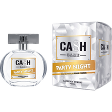 Eau de parfum femme cash game party night LAURENCE DUMONT, flacon de 50ml