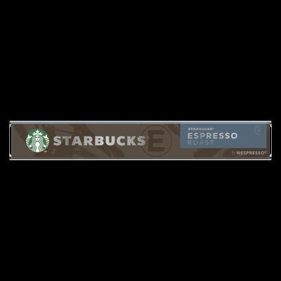 STARBUCKS by nespresso espresso roast, x10 capsules, 57g