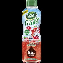 Sirop fraicheur de fruits grenadine TEISSEIRE, bouteille de 60cl