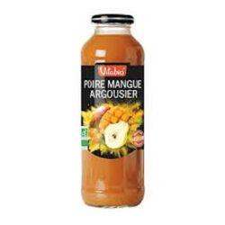 Pur jus Poire Mangue Argousier bio Vitagermine 50cl