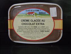 GLACE CHOCOLAT 500G