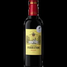 Vin rouge AOC Graves CHATEAU FERRANDE, bouteille de 37,5cl