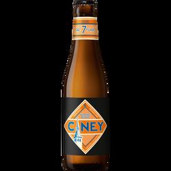 Bière blonde CINEY Heineken, 7°, boite de 33cl