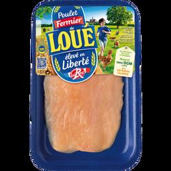 Escalope fine de poulet blanc, LOUE, France, 1 pièce