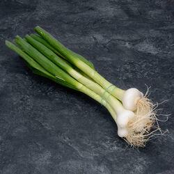 Oignon blanc botte, Produit d'Auvergne, la pièce