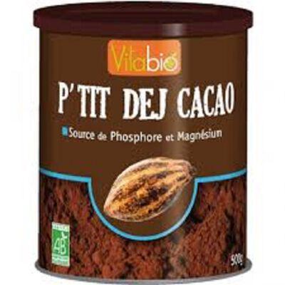 P'tit Dej Cacao Bio Vitagermine 500g