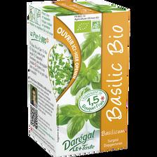 Basilic bio ecobox DAREGAL, 50g