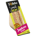 Sodeb'O Sandwich Classic Complet Jambon Beurre , 125g